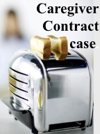 click to read court case involving care giver contract